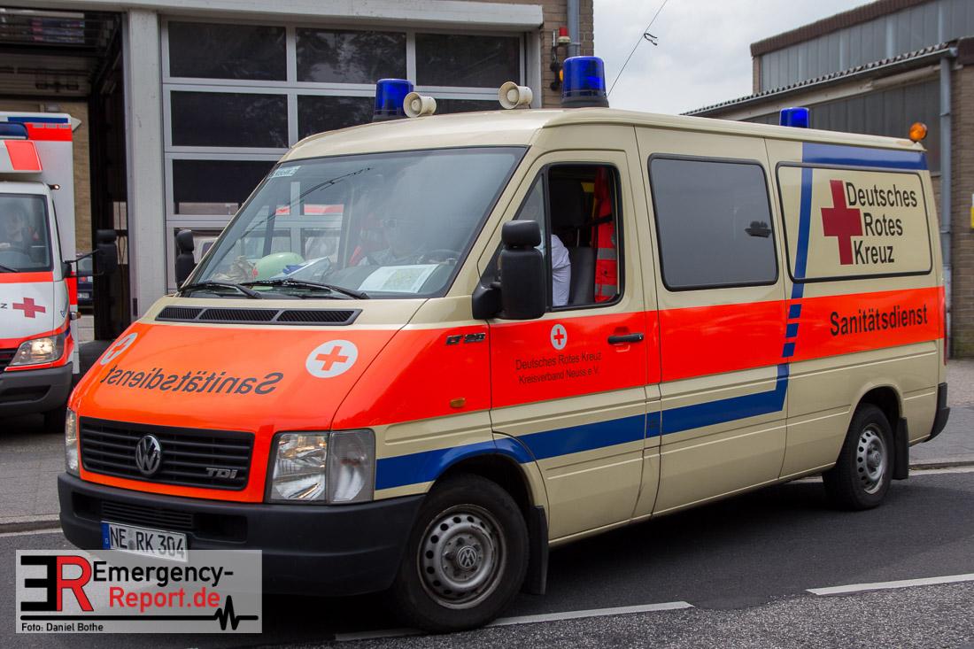 11 06 2016 Neuss Innenstadt Sanit 228 Tsdienst Beim