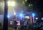 18.05.2016 ++Düsseldorf++ Feuer auf dem Gelände vom Luisenheim mit Menschenrettung - Feuerwehr mit Großaufgebot im Einsatz  Die Feuerwehr Düsseldorf rückte in der Nacht gegen 02:50 Uhr mit einem Großaufgebot auf die Schloßallee in den Stadtteil Eller aus.  In einem Gebäude,auf dem Gelände des Luisenheims kam es zu einem Feuer.  Laut ersten Informationen vomEinsatzleiter, brannte ein Wäschetrockner. 4 Personen seien laut Einsatzleiter durch Einsatzkräfte derFeuerwehr gerettet worden.2 Personen wurden durch den Rettungsdienst behandelt und anschließend in Krankenhäuser transportiert. *** Local Caption *** 18.05.2016 ++Düsseldorf++ Feuer auf dem Gelände vom Luisenheim mit Menschenrettung - Feuerwehr mit Großaufgebot im Einsatz  Die Feuerwehr Düsseldorf rückte in der Nacht gegen 02:50 Uhr mit einem Großaufgebot auf die Schloßallee in den Stadtteil Eller aus.  In einem Gebäude,auf dem Gelände des Luisenheims kam es zu einem Feuer.  Laut ersten Informationen vomEinsatzleiter, brannte ein Wäschetrockner. 4 Personen seien laut Einsatzleiter durch Einsatzkräfte derFeuerwehr gerettet worden.2 Personen wurden durch den Rettungsdienst behandelt und anschließend in Krankenhäuser transportiert.