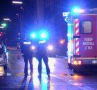 14.01.2017 ++Düsseldorf++ Schwere Kollision zwischen PKW & Fußgänger - Mann schwer verletzt  Gegen 17:25Uhr kam es in Düsseldorf auf der Kappeler Straße, in Höhe der Hausnummer 40, zu einerschweren Kollision zwischen einem Kleinwagen und einem Fußgänger. Nach dem Zusammenprall wurde der Mannzu Boden geschleudert und schwer verletzt. Unter Notarztbegleitung wurde der Patient in ein Krankenhaus transportiert. Die Polizei hat die Ermittlungen zur Unfallursache aufgenommen. *** Local Caption *** 14.01.2017 ++Düsseldorf++ Schwere Kollision zwischen PKW & Fußgänger - Mann schwer verletzt  Gegen 17:25Uhr kam es in Düsseldorf auf der Kappeler Straße, in Höhe der Hausnummer 40, zu einerschweren Kollision zwischen einem Kleinwagen und einem Fußgänger. Nach dem Zusammenprall wurde der Mannzu Boden geschleudert und schwer verletzt. Unter Notarztbegleitung wurde der Patient in ein Krankenhaus transportiert. Die Polizei hat die Ermittlungen zur Unfallursache aufgenommen.