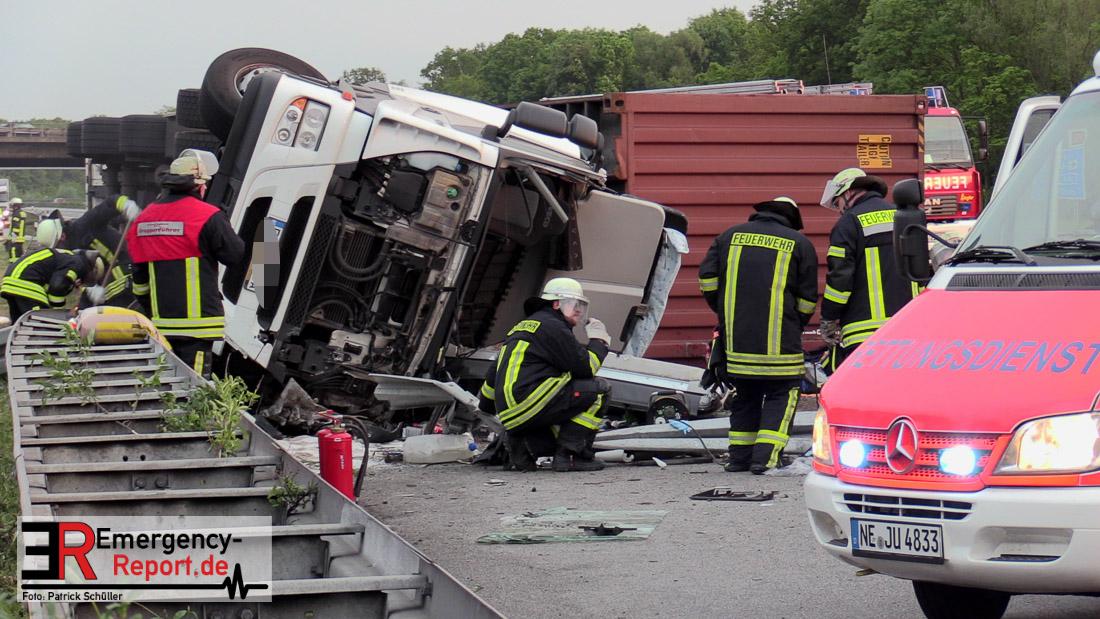 Unfall Auf A57 Heute