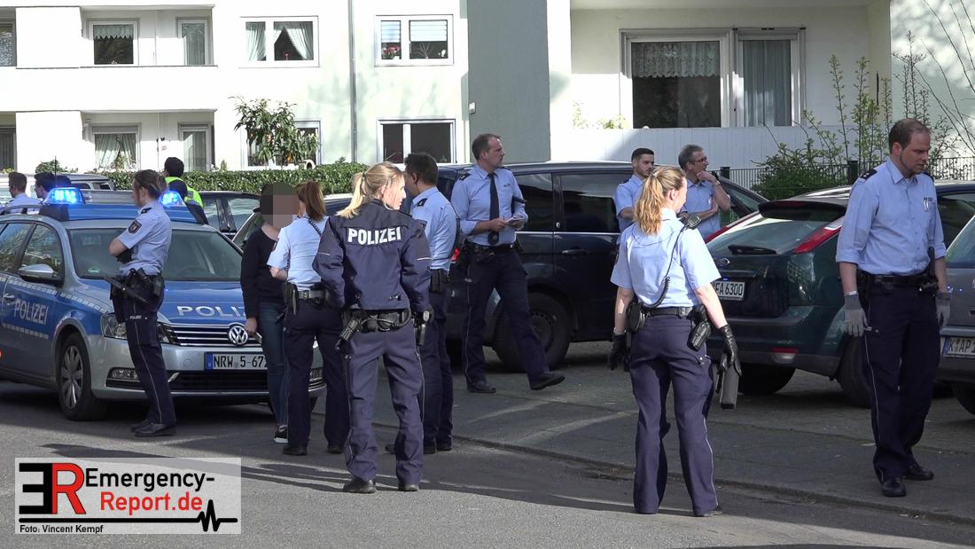 Polizeieinsatz Köln Mülheim