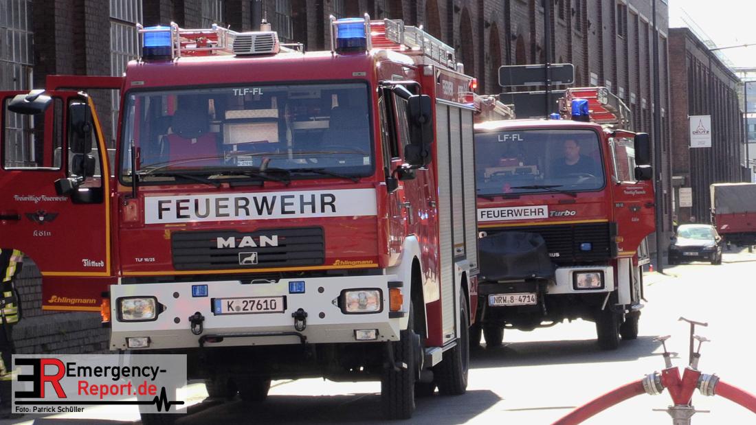 Feuerwehr Köln Mülheim