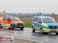 10.04.2021 - Neuss Hoisten - Kreuzungsunfall - Zwei Verletzte