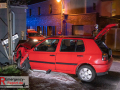 10.04.2021 - Rommerskirchen - PKW gegen Hauswand - 3 Verletzte