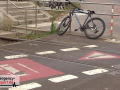 12.09.2021 - Düsseldorf - Radfahrer wurde von U-Bahn erfasst - Rettungshubschrauber im Einsatz