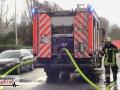 Saunabrand im 6. OG eines Mehrfamilienhauses - Feuerwehr Hilden