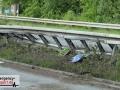 Schwerer Unfall zwischen 2 Autos - Fahrerin schwer verletzt - Ku