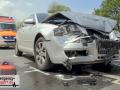Auffahrunfall auf der Berghausener Straße - 3 Autos beteiligt -