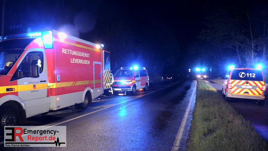 Unfall Leverkusen Rheindorf