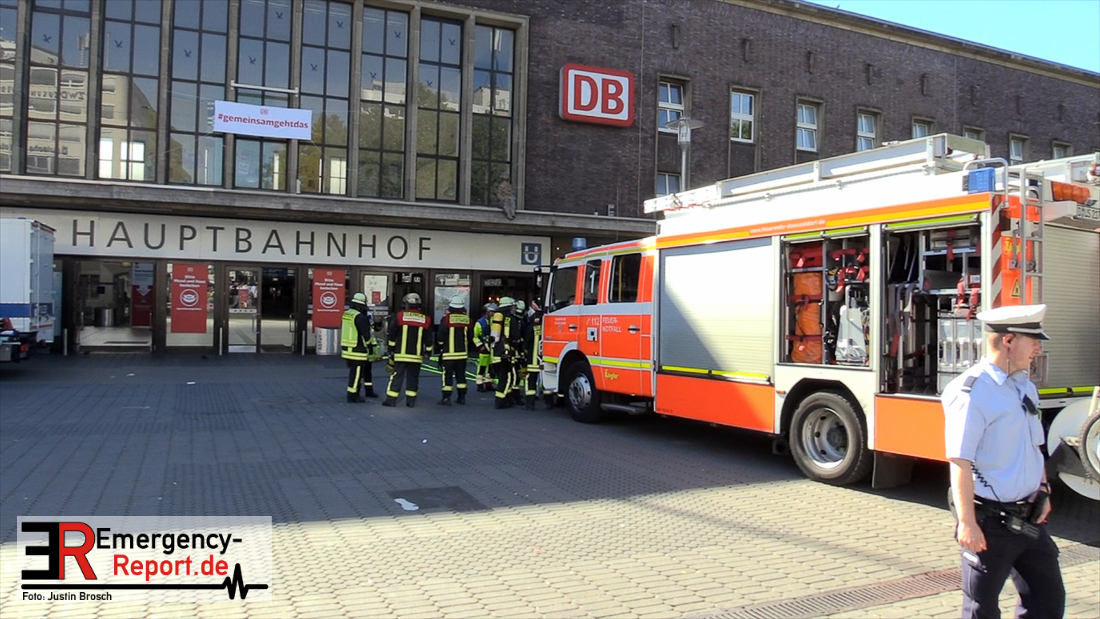 Düsseldorf Hbf Polizeieinsatz