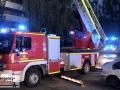 Zimmerbrand im 5. OG eines Mehrfamilienhauses - Wohnung unbewohn