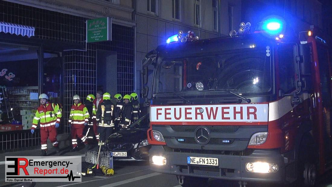 Brandstiftung - Mann zündet Wohnung an.