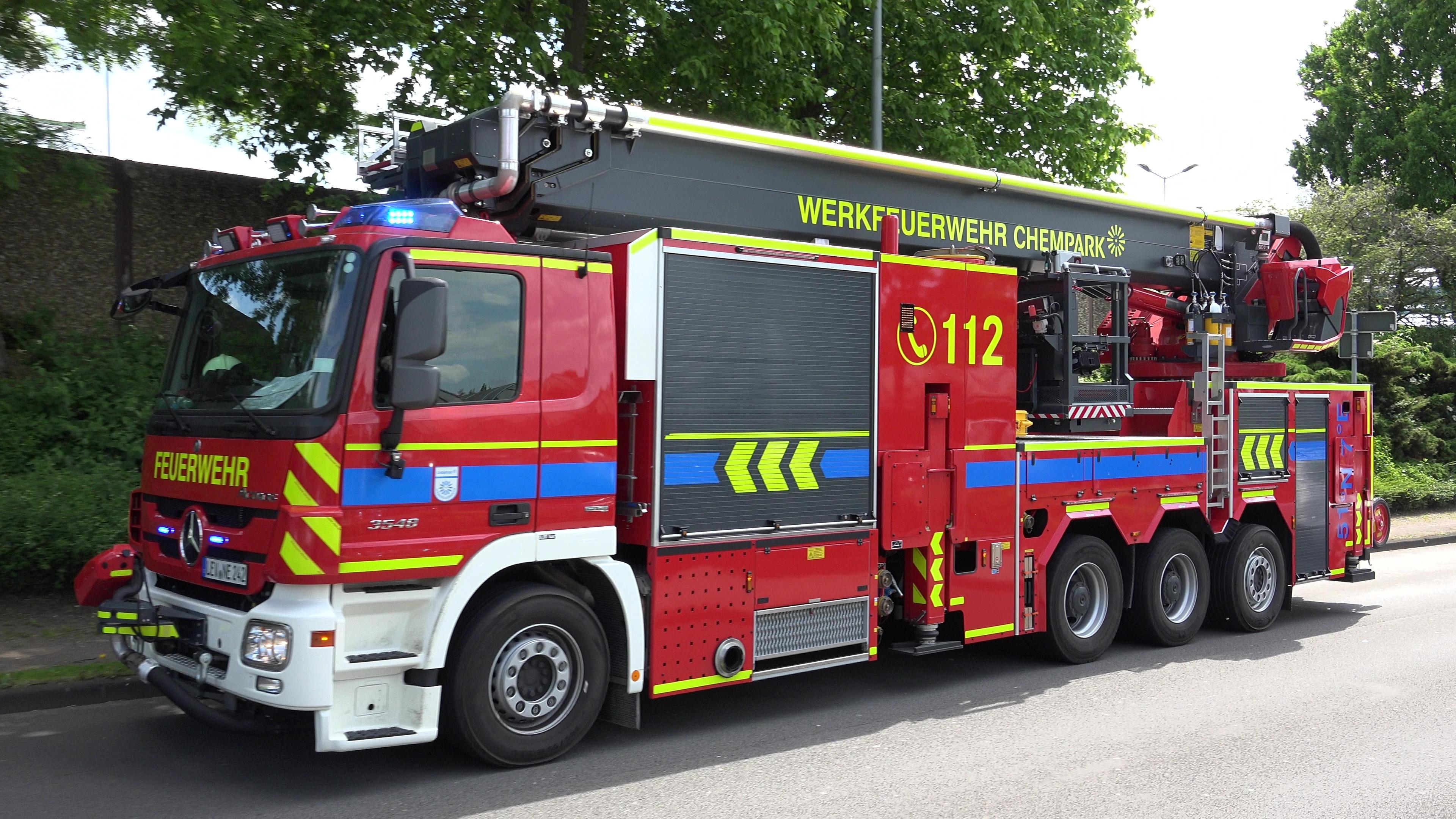 Werkfeuerwehr Chempark Leverkusen